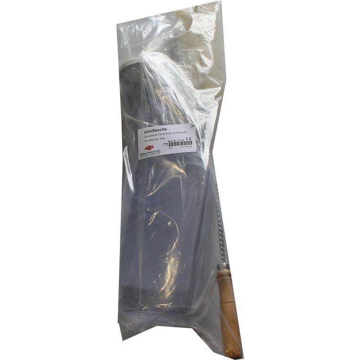 URINFLASCHE für Männer klar m.Bürste:   Packungsinhalt: 1 St Flaschen PZN: 07530184 Hersteller: Büttner-Frank GmbH Preis: 5,94 EUR inkl.…