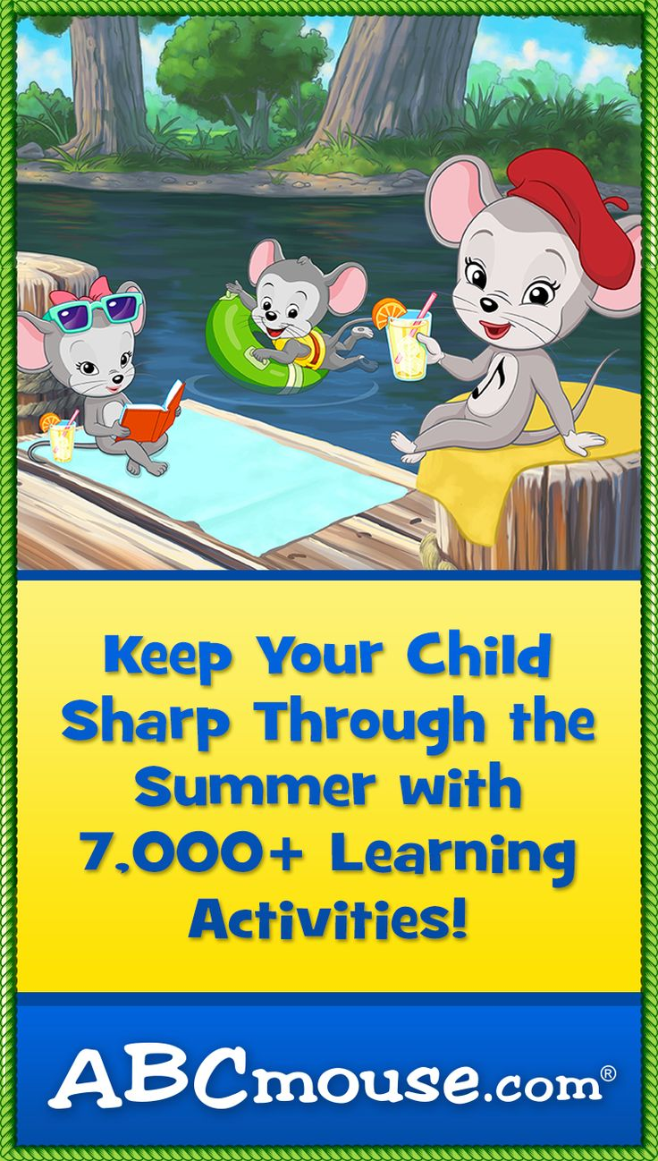 This summer get 2 Months for $5 of ABCmouse! Online preschool, pre-k, kindergarten and first grade for kids 2-7. Learn more at www.ABCmouse.com! #ABCmouse