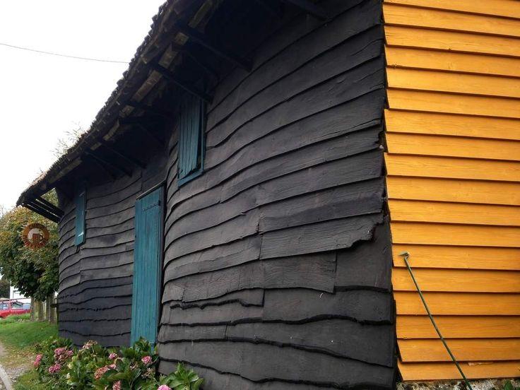 30 best saint leu images on Pinterest Rooftop gardens, Green roofs - peinture bois et fer