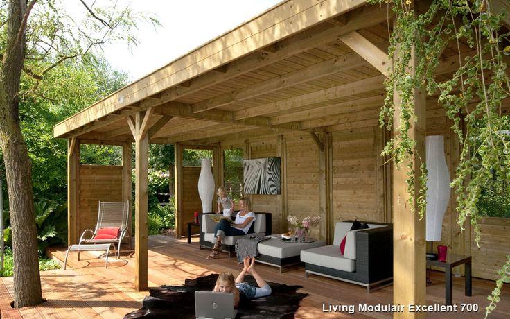 Living Modulair Excellent 700 met Design Tuinhuis
