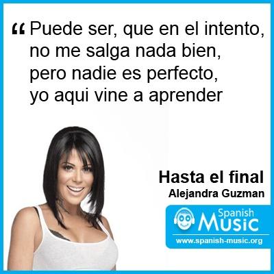 Alejandra Guzmán - Hasta el Final - YouTube