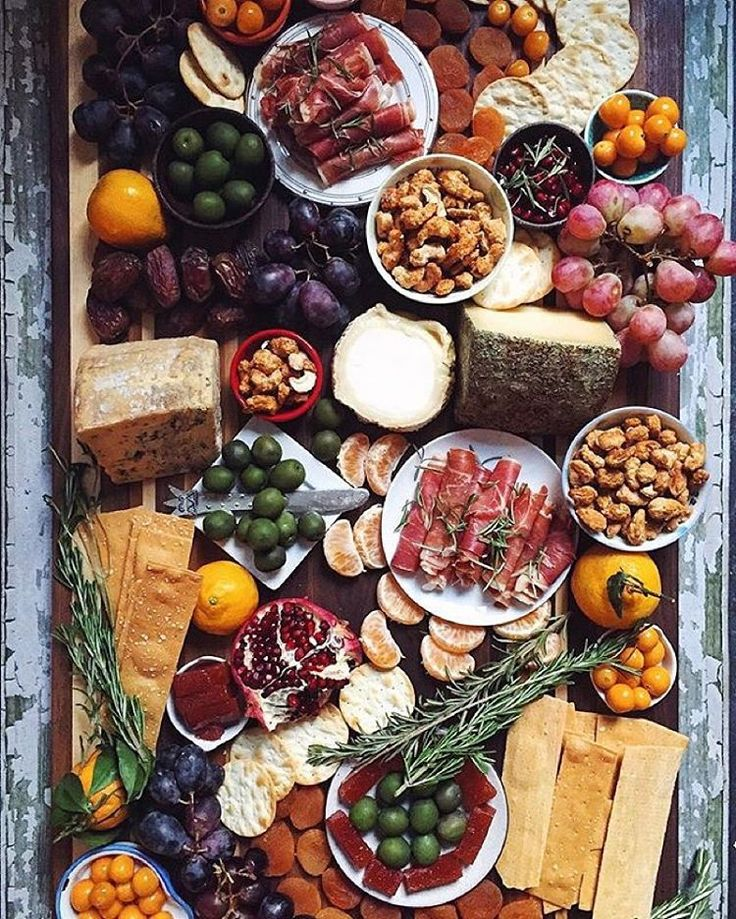 "Food & Wine on Instagram: ""The never-ending cheeseboard #howiholiday with @feedmedearly."""