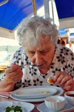 how to gain weight elderly