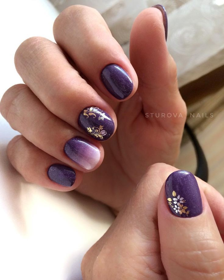 94 Short Nails Designs For Winter 2018 Fashion 2d Dark Nail Designs Nail Designs Short Nail Designs