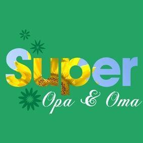 Wenskaart Super Opa & Oma