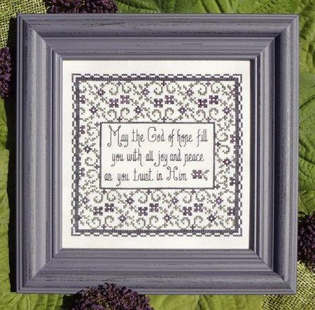 Trust in Him - Cross Stitch Pattern