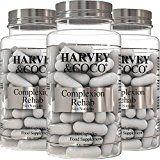 Feuchtigkeitsspendende Hautpflege mit Kollagen, Hyaluronsäure, Vitamin C & E | 100% natürliches Nahrungsergänzungsmittel | Für Männer & Frauen (3-Monats-Vorrat)