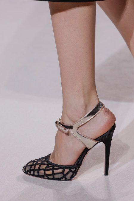 Louboutin: Detail @ Giambattista Valli Spring 2013 Couture