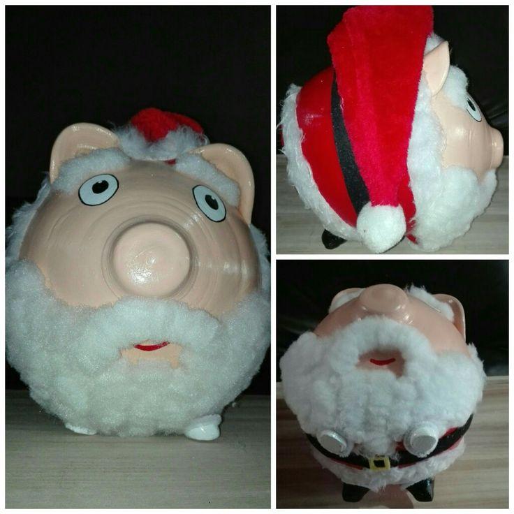 Alcancia chancho Santa  https://www.facebook.com/kochicr/