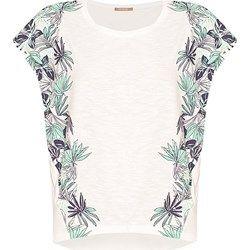 T-shirt oversize w palmy