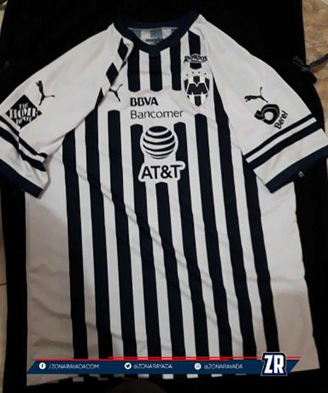 Camiseta PUMA de Rayados de Monterrey 2018-19  752b6f9e9fb7e