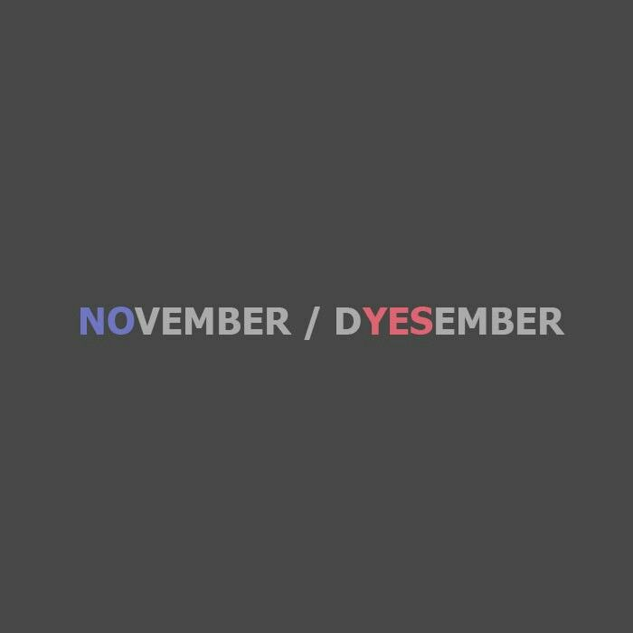 creative text idea november december yes no quotes motivations typographic