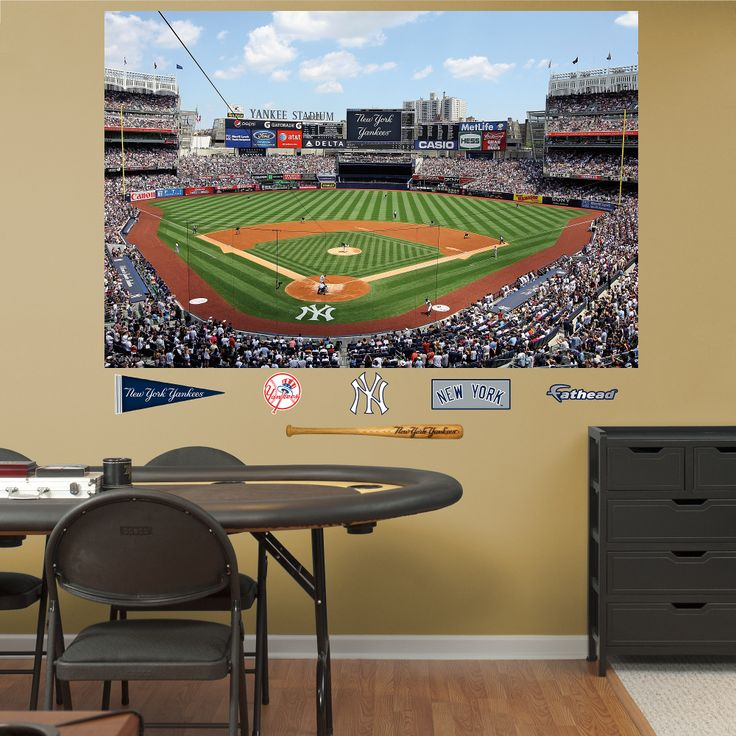mlb new york yankees yankee stadium 2012 mural fathead wall graphic