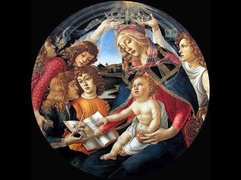 "Botticelli ""Madonna of the magnificat"""