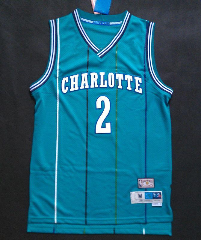ADIDAS LARRY JOHNSON CHARLOTTE HORNETS NBA HARDWOOD CLASSICS THROWBACK SWING  MAN JERSEY  alleniverson  sixers 3eb8df341