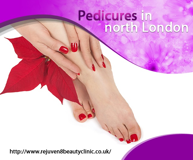 Easily get luxurious Manicure and Pedicure treatments at Rejuven8 Beauty Clinic based in North London, Crouch End, N8 and Muswell Hill.