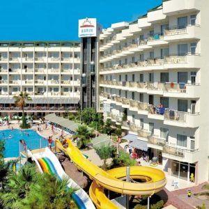 Отель Asrin Beach в Турции предлагает открытый бассейн с 2 водными горками, спа-центр и собственный пляж.  Номерной фонд отеля 250 номеров. В номерах: кондиционер, телевизор со спутниковыми каналами, балкон, современной мебелью и ванная комнатой с феном. http://www.bontravel.com.ua/tours/hotel-asrin-beach-alaniya-turciya/   #travel #путешествия #акция