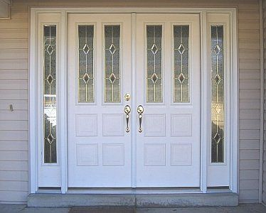 Entry doors with sidelights french doors with sidelights - Exterior french doors with sidelights ...