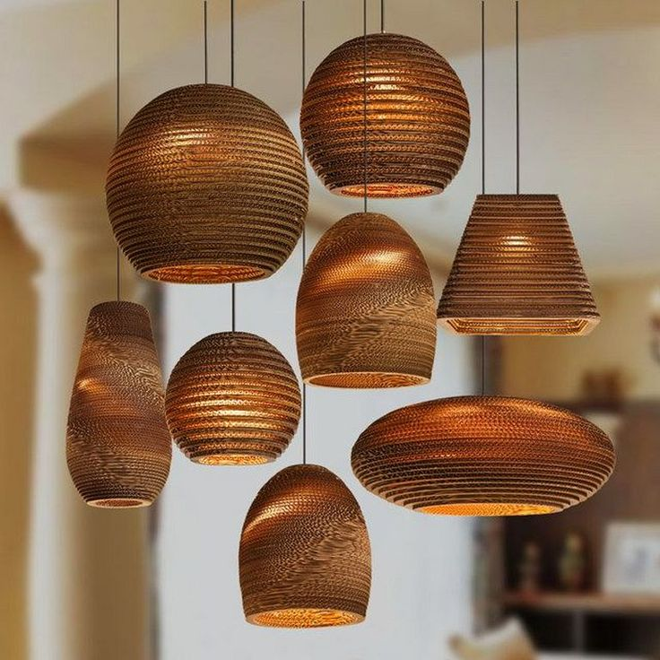 30+ Simple Bamboo Pendant Lamp Design Ideas That Easy To Make