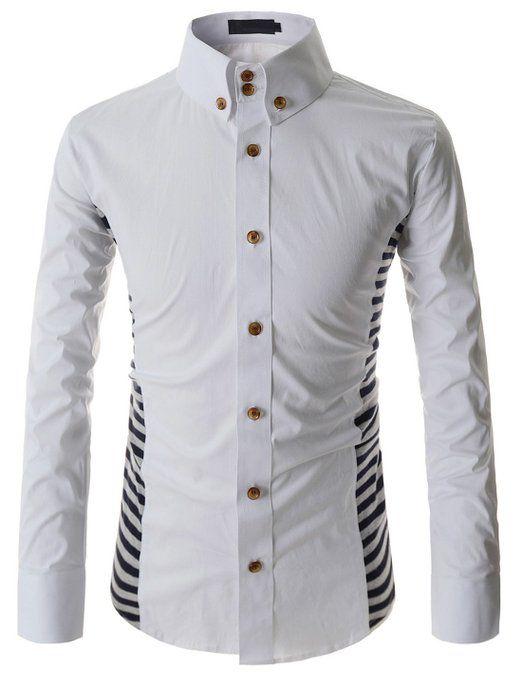 Ivory Colored Mens Dress Shirts