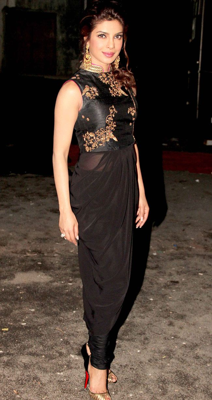 Priyanka Chopra on Bigg Boss to promote Krrish 3 #Bollywood #Fashion