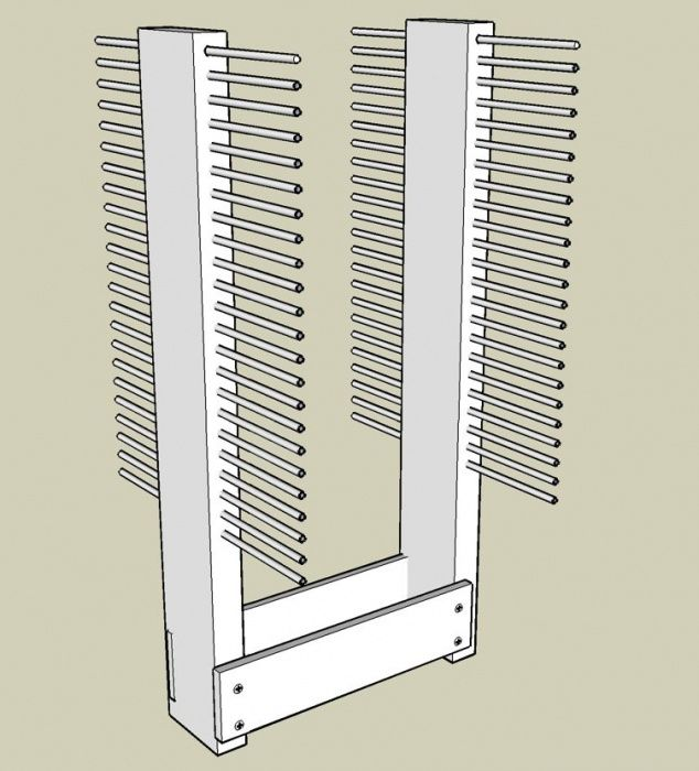 Nice Cabinet Door Drying Rack Interior