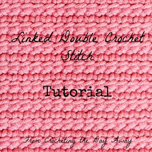 Today I just wanted to share a tutorial for a really cool crochet stitch. When I learned how to do this stitch, I was really impressed and loved the outcome. This stitch is called the Linked Double…