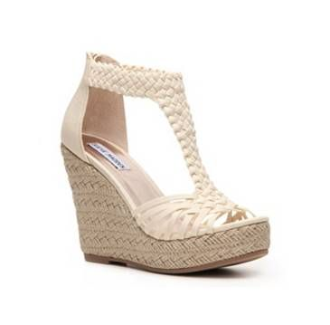 Shop Women's Shoes: Wedges Sandals –DSW in Nude $50