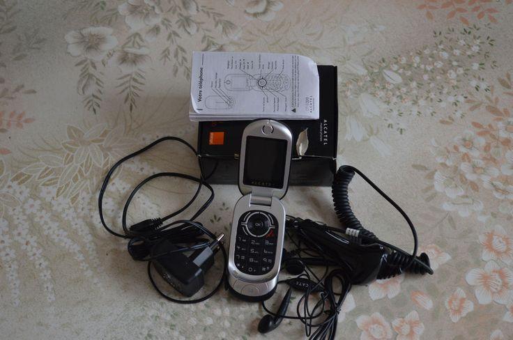 TELEPHONE PORTABLE ALCATEL OT-S320 ,à clapet , opérateur ORANGE