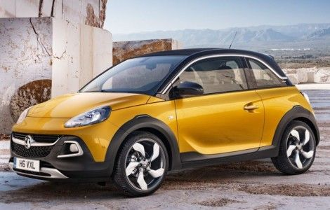 Opel Adam Rocks 2017 Wallpaper For Mobile
