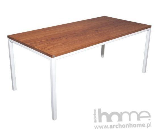 Stół Modern classic 140 lakierowany biały, archonhome.pl