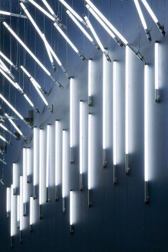 Nulty - John Lewis, York - Retail Light Art Installation Sculpture Fluorescent Lamps | Finalist Lighting Design Awards 2015