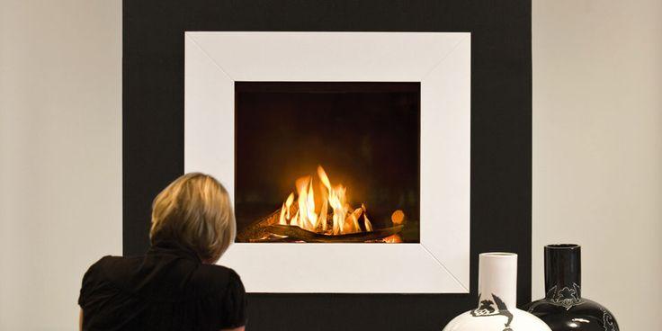 Gasfeuerstellen/Front quadratisch: Fairo 75