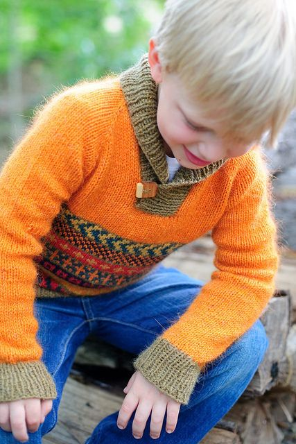 Knitting for Boys? Enter to Win The Knits for Boys Pattern Book From Kate Oates