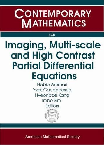Imaging, Multi-Scale and High Contrast Partial Differential Equations