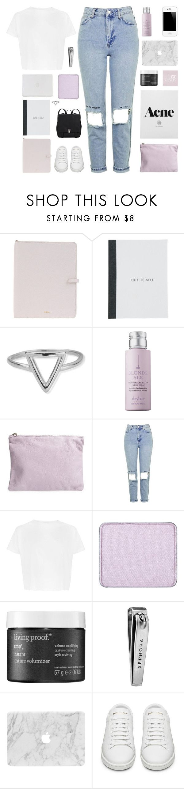 """""""LIKE TO JOIN OUR TAGLIST"""" by naturitve ❤ liked on Polyvore featuring Jil Sander, ChloBo, Drybar, BAGGU, Topshop, shu uemura, Living Proof, Sephora Collection, Yves Saint Laurent and Proenza Schouler"""