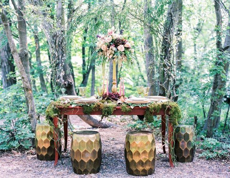 15 Enchanting Woodland Wedding Ideas