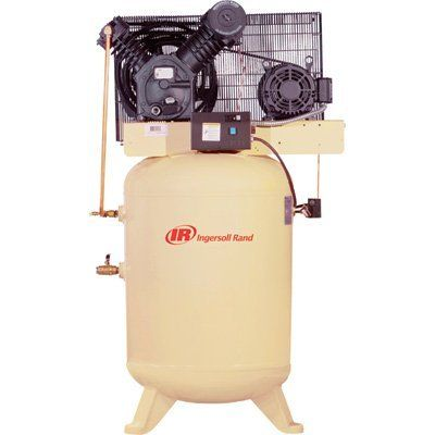 #airtoolsdepot - Ingersoll Rand Type-30 Reciprocating Air Compressor - 10 HP, 460 Volt 3 Phase, Model# 2545K10-V by Ingersoll Rand:…