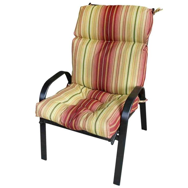 high back patio chair cushions clearance