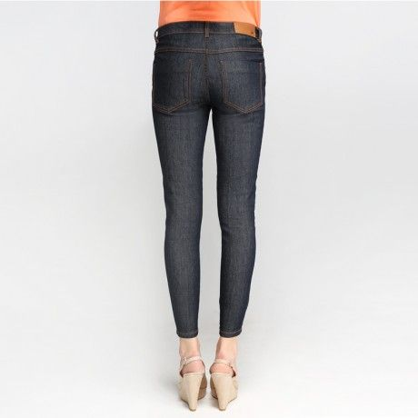 88 Skinny-Fit Denim Dark Indigo Crops