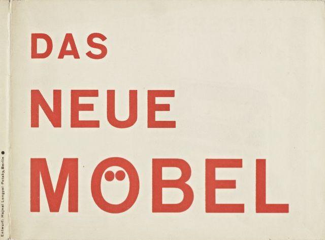 "Brochure ""Das Neue Möbel"", design Hajnal Lengyel, 1928. For the Standard Möbel company of Marcel Breuer, distributed by Thonet. Complete brochure via Marcel Breuer Digital Archive"