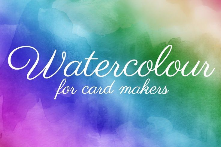 In this class you'll learn card-making expert tips and tricks for creating popular watercolour looks on your cards…using supplies you may already have!  view more http://kristycoromandel.com/pages/watercolour-for-card-makers/