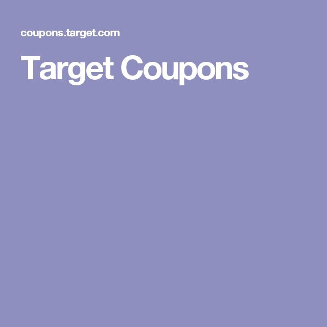 Up to 80% off with Target Coupons! Target Coupons