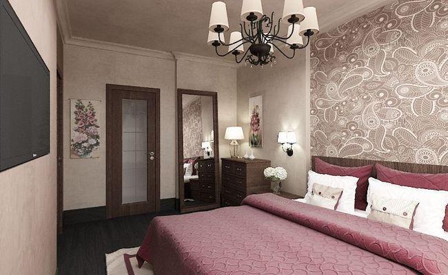 Дизайн-проект спальни «Пейсли»