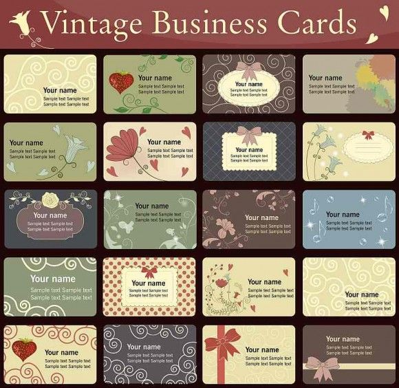 63 best Business card images on Pinterest Creative business - sample cards
