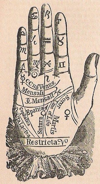 Divination:  #Palmistry.