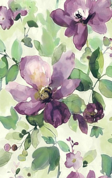 Clematis Watercolour