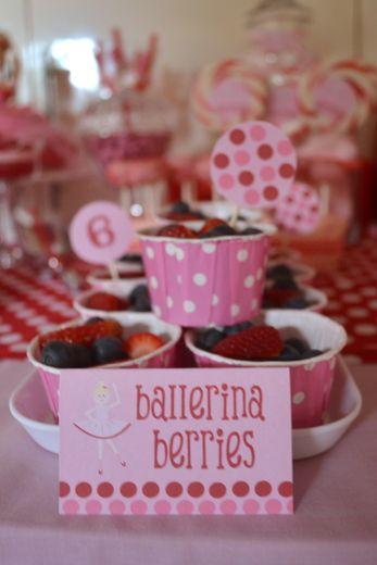 "Photo 1 of 33: Ballerina / Birthday ""Prima Ballerina"" | Catch My Party"