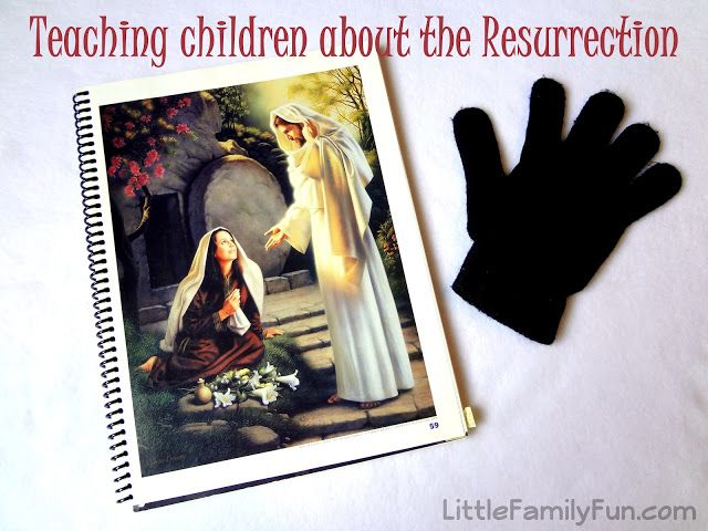 Little Family Fun: Teaching children about the Resurrection
