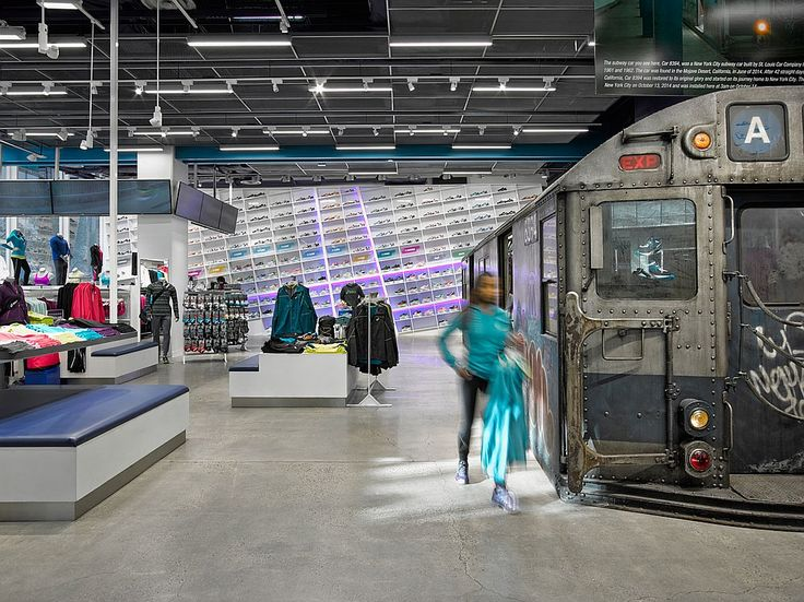 Train: The Asics New York Flagship by Mapos | Companies | Interior Design